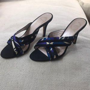Emilio Pucci kitten heels